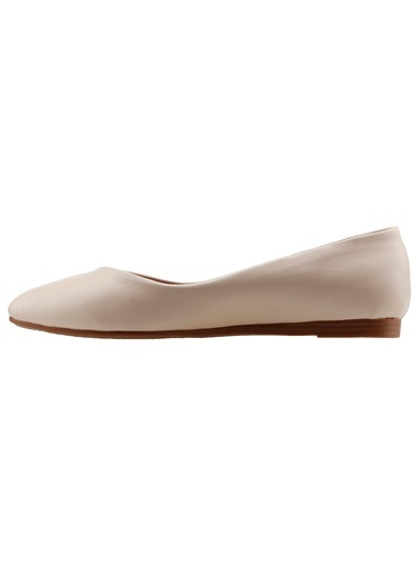 Ayakland Ayakland 1920-209 Günlük Anatomik Bayan Cilt Babet Ayakkabı Ten